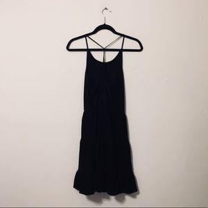 PINS AND NEEDLES Black Ruffle Dress